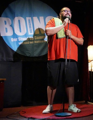 comedian bora boing podcast bild 2